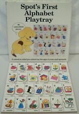 Vintage Spot's First Alphabet Playtray