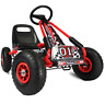 Children Go Kart Kids Pedal Ride On Car Racing Toy Rubber Tyres Wheels Go