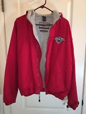 2001 indianapolis Grand Prix Vintage Red Hooded jacket Large