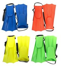 Kids Children Junior Swimming Swim Diving Snorkeling Adjustable Flippers Fins
