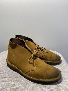 Clarks / Tan / Size 7.5 UK
