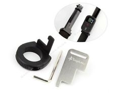 Large WiFi Remote Lock Mount Holder Ring Adapter for GoPro Camera Monopod Pole
