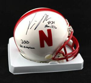Prince Amukamara SIGNED Nebraska Mini Helmet + All American PSA/DNA AUTOGRAPHED