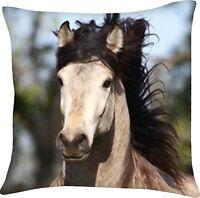 Herding Kissen Dekokissen Kinderkissen Pferde Pferd Mähne  40 x 40 cm neu