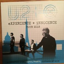 U2 eXPERIENCE + INNOCENCE Torre 2018 In Paris (RARO 2 CD)