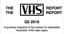 THE VHS REPORT #1 Australian Horror Video ZINE Ebay Price Guide 2018 horror