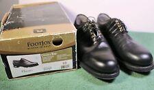 NEW IN BOX Men's 10 D M FootJoy Classics Tour Style 51757 Black Golf Shoes