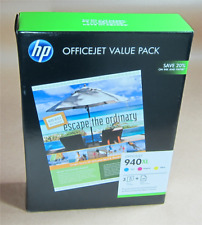 [782*] HP 940XL VALUE PACK (CG898AA) C,M,Y INK AND PAPER ( RRP>$130 )