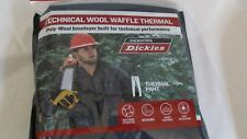 Dickies Thermal Pants Poly-Wool Baselayer  Wicking/Odor Control XL 40-42