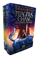 Rick Riordan Magnus Chase And The Gods Of Asgard 2 Books Set Collection