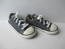 Junior Blue Converse All Star Low Trainers / Shoes, Size: UK 10 / EU 26