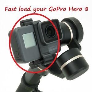 Klammer Feiyu G6 & GoPro Hero 8 white silver black