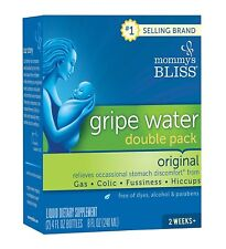 Mommy's Bliss Gripe Water, Liquid, 4 Ounce (Pack of 2)