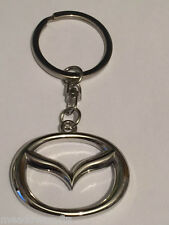 Mazda Key Ring NEW - Silver Chain Keyring