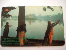 PHONECARD TELECARTE VIETNAM HANOI Hà Nội Viêt Nam * TAP THE DUC BUOI SANG *