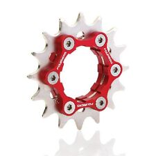 FOURIERS Fix Gear Single Speed Cog fix on Bike Hub Disc 16T 17T 18-23T + adaptor