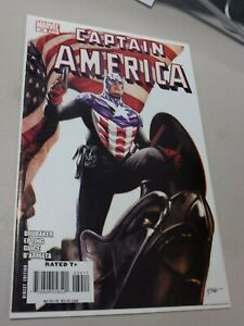 Captain America 34, Marvel 2008, Bucky Becomes Cap, Winter Soldier, Cover B NM