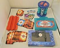 Bakugan Accessories Lot: Carrying Case, Tower, Card Case, 130 Cards, And MORE!