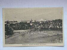 MASSAUA Eritrea giardini Palazzo Governo colonie AOI vecchia cartolina