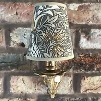 William Morris - Small Handmade Candle Clip Lampshade for Wall Lights/Chandelier
