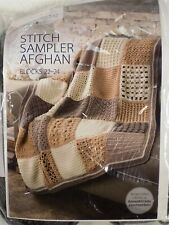 Annie's Crochet Afghan Stitch Ampler Afghan Blocks 22-24 Block of the Month
