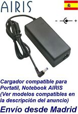 Cargador Corriente 19V Portatil AIRIS Notebook Netbook Ordenador Power Supply