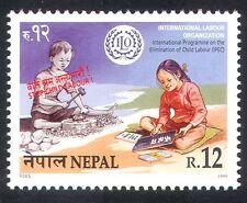Nepal 1999 Oil/Bambini/lavoro minorile/Lavoro/istruzione/Benessere/Salute 1v (n39539)