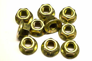 GENUINE MG ROVER - LANDROVER M12 ENGINE MOUNTING NUTS X2  FX112041 FX112041L
