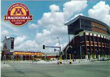 Postcard Minnesota University of MN Gophers TCF Bank Stadium Football Unused MNT