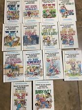 Vintage Children's Book Lot Of 14 The Survival Series for Kids 1980's Joy Berry