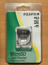 Genuine FujiFilm Fuji Micro SD/SDHC Keyring Memory Card Reader (USB 2.0)