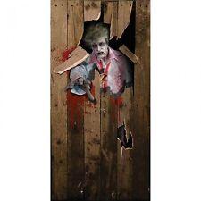 Halloween Door Poster Cover 6ft x 3ft Scary Zombie Walking Dead Party Prop