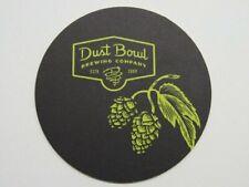 Beer Coaster /</> DUST BOWL Brewery Hobo Pilsner ~ Turlock CALIFORNIA; Since 2009