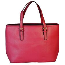 Laptop Computer Bag Tote Handbag For Apple MacBook Pro 15 inch (Red)