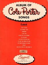 1937 Album Of Cole Porter Songs Chappell & Co. New York Glossy Soft Cover Vgc