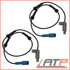 2x ABS SENSOR HINTEN PEUGEOT 206 + CC 1.4 1.6 2.0 BJ 02-09