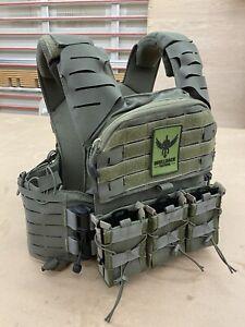 Shellback Tactical Banshee 3.0 Plate Carrier Ranger Green L/XL