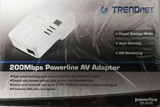 TRENDnet 200Mbps Powerline AV Adapter TPL-303E