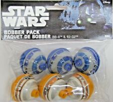 Zebco Star Wars Bb8 & R2D2 Bobber Fishing Float 6 pack