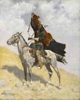 The Blanket Signal by Frederic Remington Giclee Repro Canvas