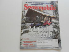 New ListingSnowmobile magazine 2003 Buyers Guide issue Fast Blade Ski-Doo Rev Yamaha Rx-1