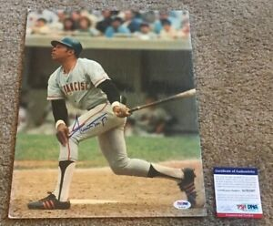 WILLIE MAYS Signed Autographed 11x14 Thick Stock Photo SF GIANTS HOF PSA/DNA COA