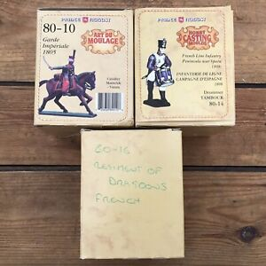 3 Sets Prince August 54mm Scale Moulds French Imperial Guard Dragoons PA-80 #7