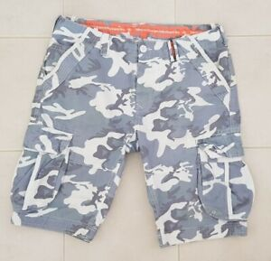 Superdry Mens Camo Shorts Size Large
