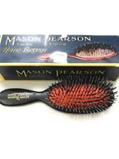 Mason Pearson Pocket Bristle & Nylon Hair Brush, BN4, Dark Ruby