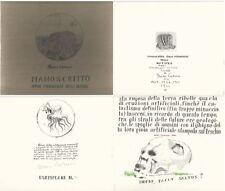 Signed Limited Ed Manoscritto Sulle Meraviglie Della Natura, Disgeni E Considera