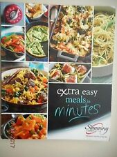 SLIMMING WORLD EXTRA EASY MEALS IN MINUTES VGC 50+ DELICIOUS SPEEDY DISHES