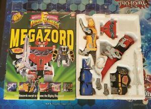 🔥Bandai 1993 Mighty Morphin Power Rangers Deluxe Set Megazord NO INSTRUCTIONS🔥