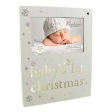"Bambino Baby's 1st Christmas Motion Sensor Switch Light Up 6 x 4"" Photo Frame"