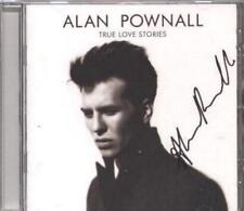 SIGNED CD Alan Pownall - True Love Stories + proof emails